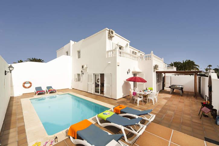 Villa Susie, Puerto del Carmen, Lanzarote, Spain