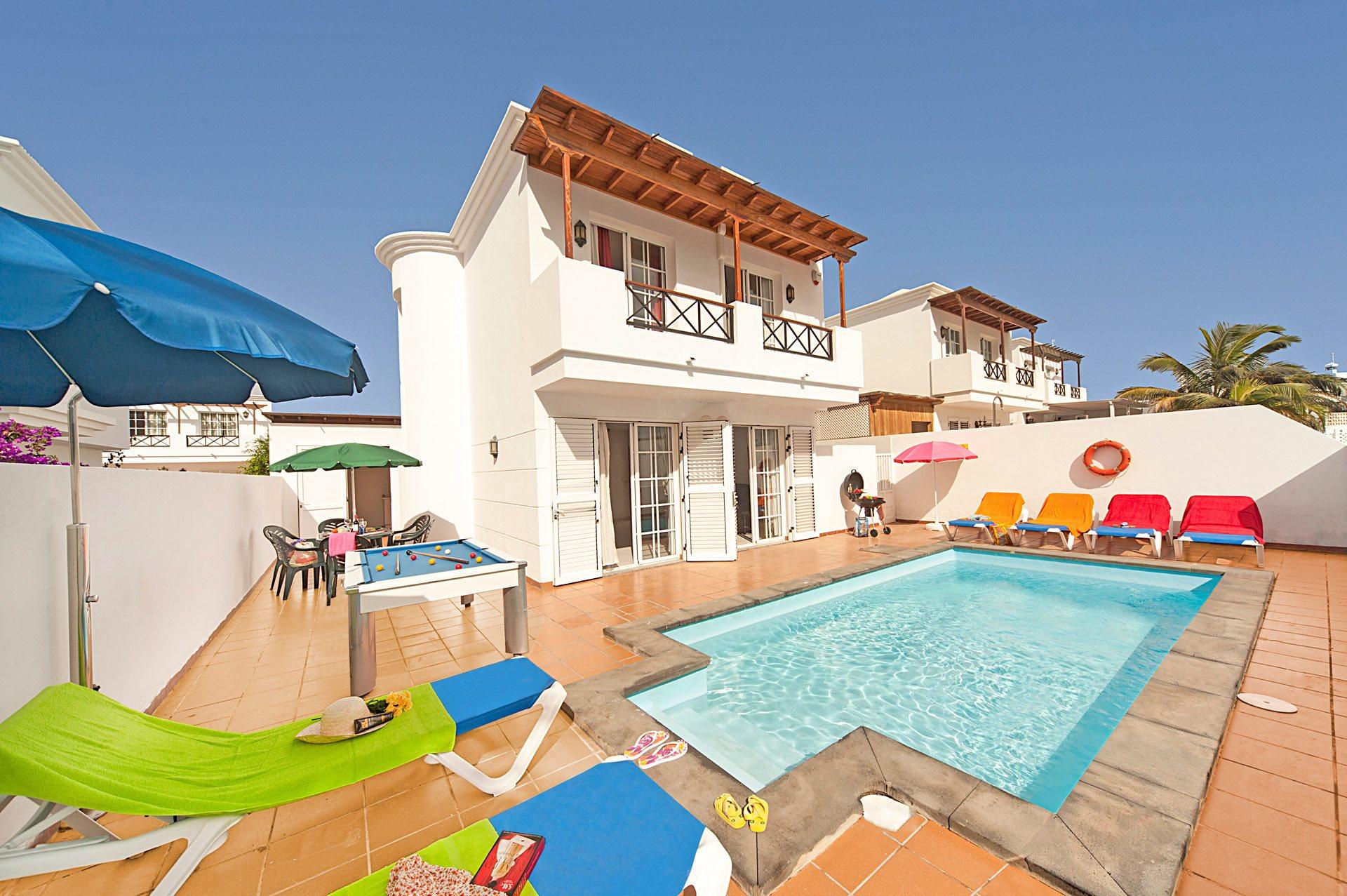 Villa Tabaiba, Puerto del Carmen, Lanzarote