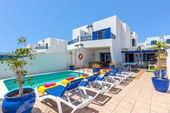 Villa Tinamar, Playa Blanca, Lanzarote