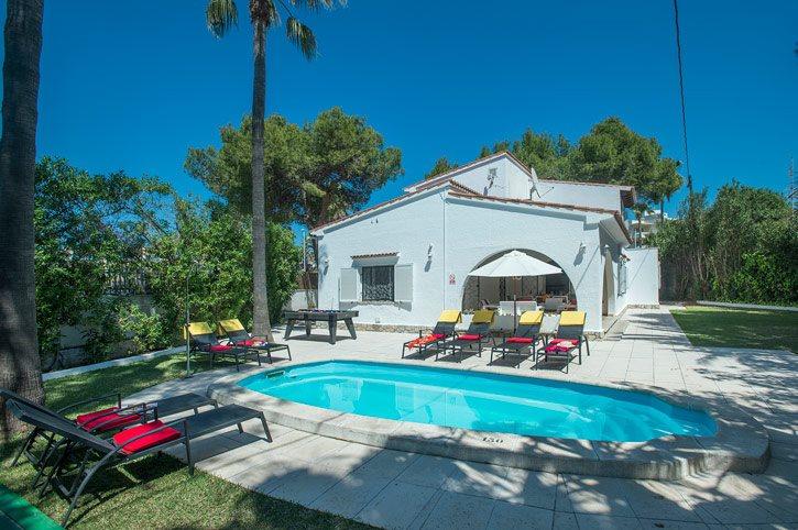 Villa Alcudia Beach, Alcudia, Majorca, Spain