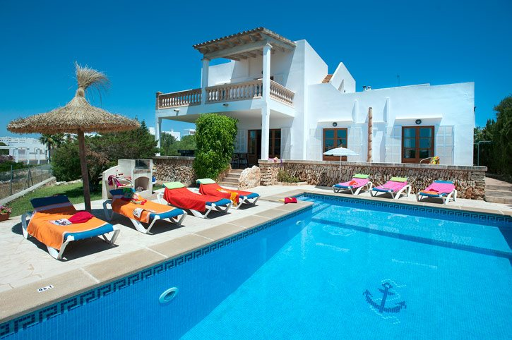 Villa Badia D'Or, Cala D'or, Majorca, Spain