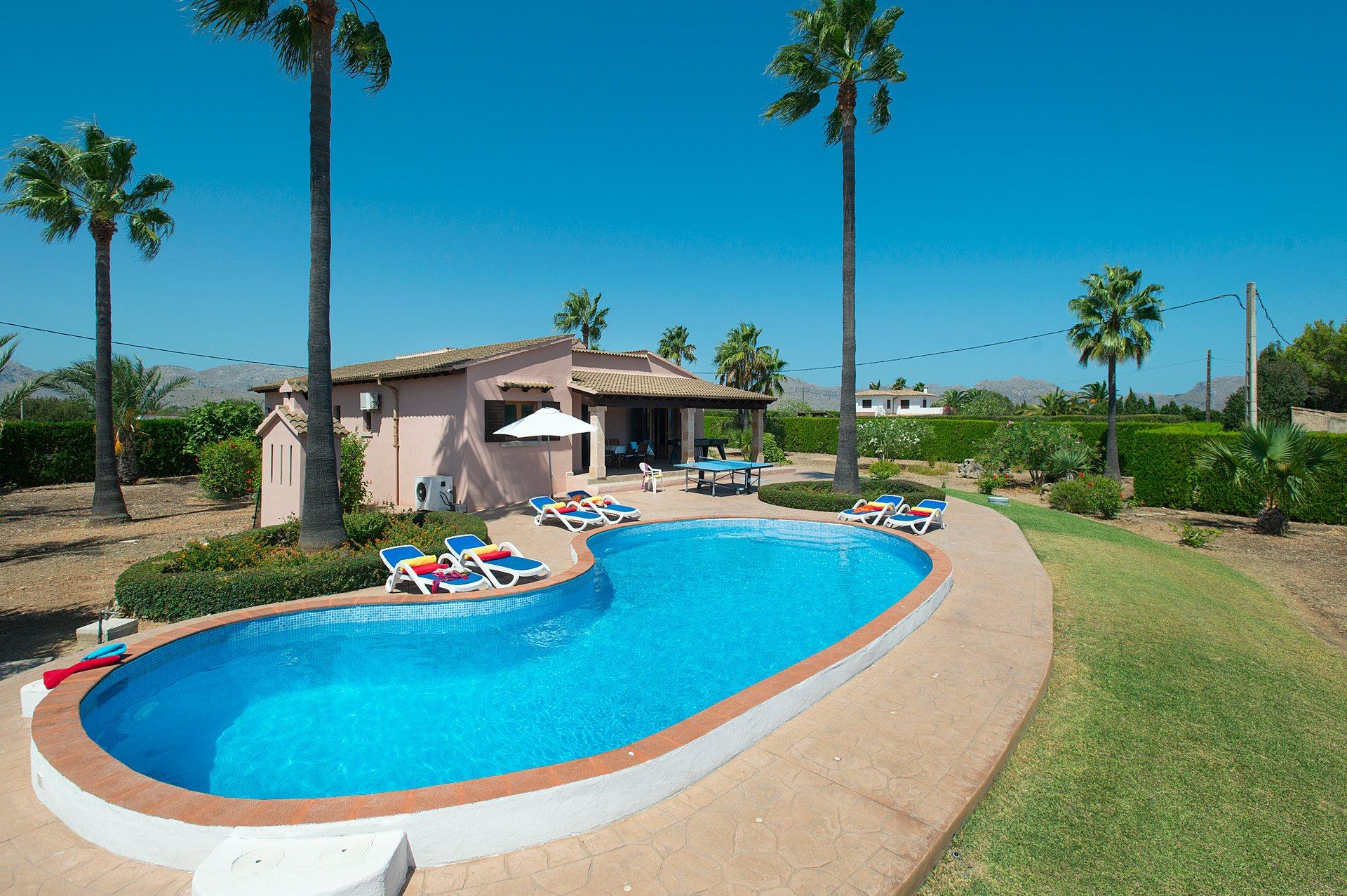 Villa Bauza, Pollensa, Majorca, Spain