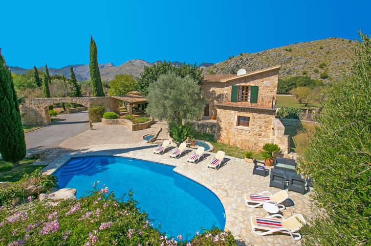 Villa Bennassar, Pollensa, Majorca, Spain