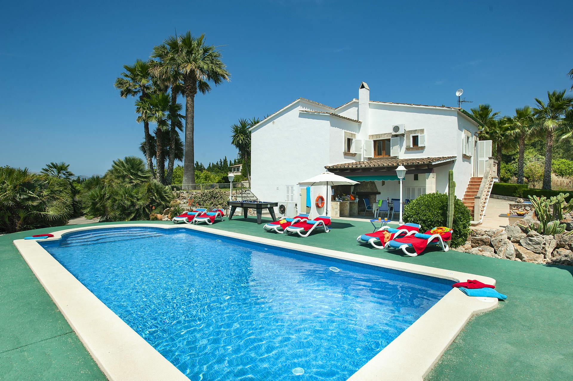 Villa Conxa Bisanyes, Pollensa, Majorca, Spain