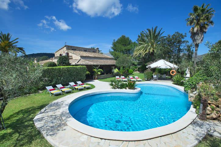 Villa Bon Reco, Pollensa, Majorca, Spain