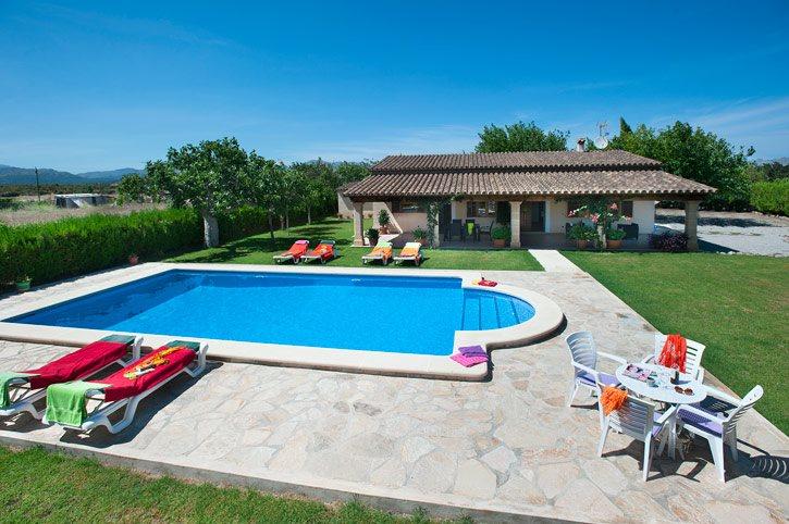Villa Burgues, Pollensa, Majorca, Spain