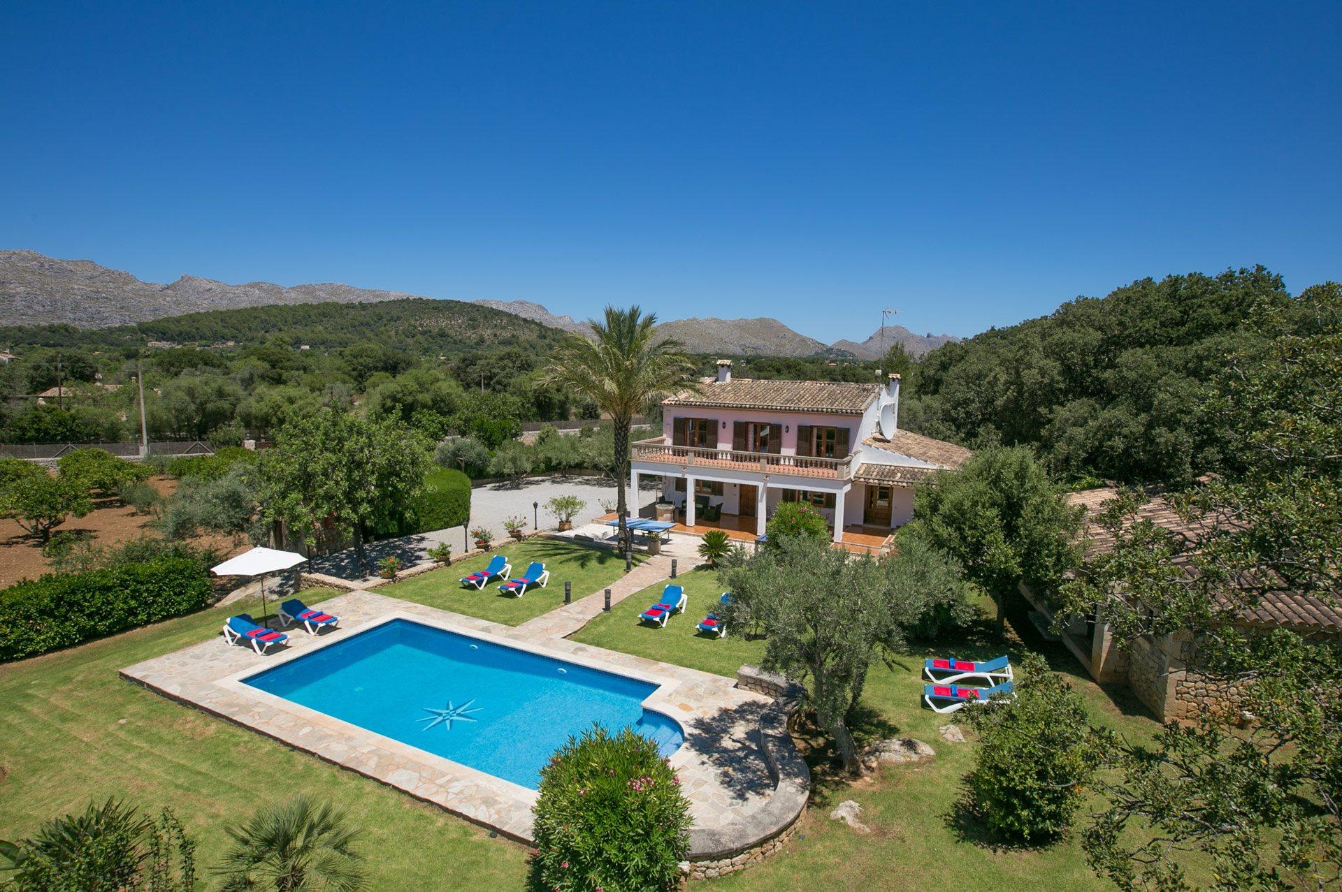 Villa Busqueroles, Pollensa, Majorca, Spain