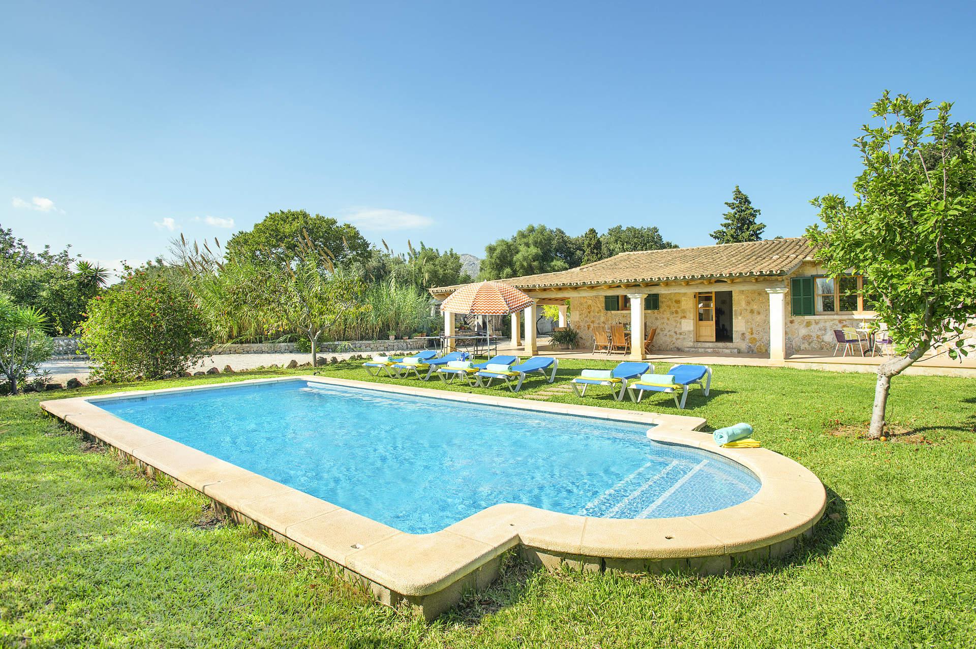 Villa Cal Rei, Pollensa, Majorca, Spain