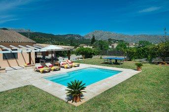 Villa Ca Na Lida, Pollensa, Majorca, Spain