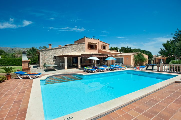 Villa Ca Na Salada, Puerto Pollensa, Majorca, Spain
