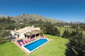 Villa Ca'n Colet, Pollensa, Majorca, Spain