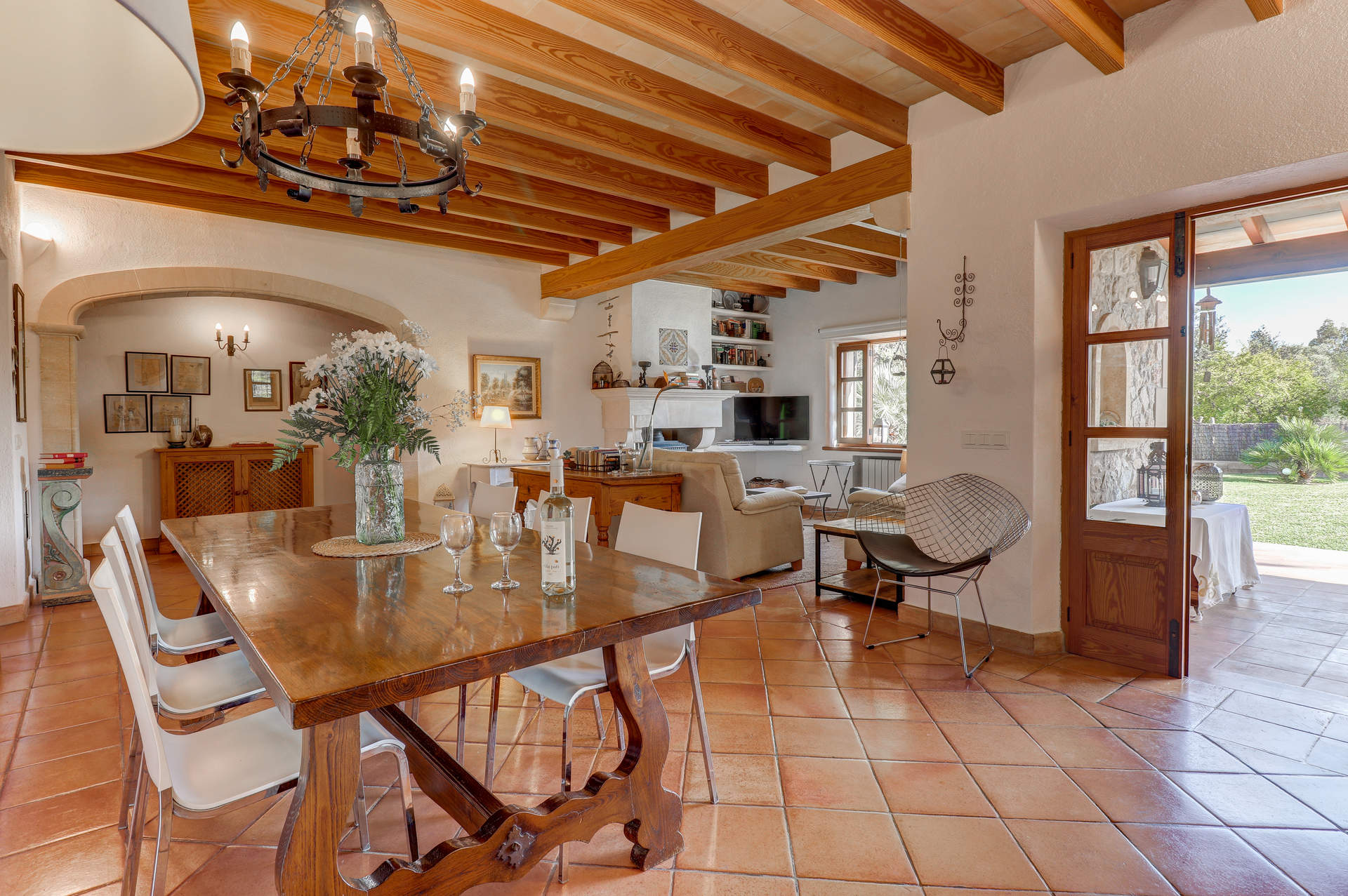 Villa Can Mena In Pollensa Majorca Villa Plus