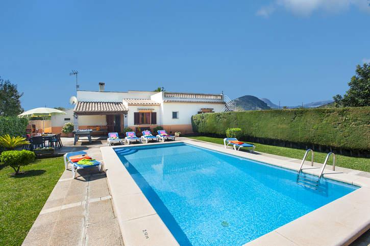 Villa Can Pinto, Pollensa, Majorca, Spain