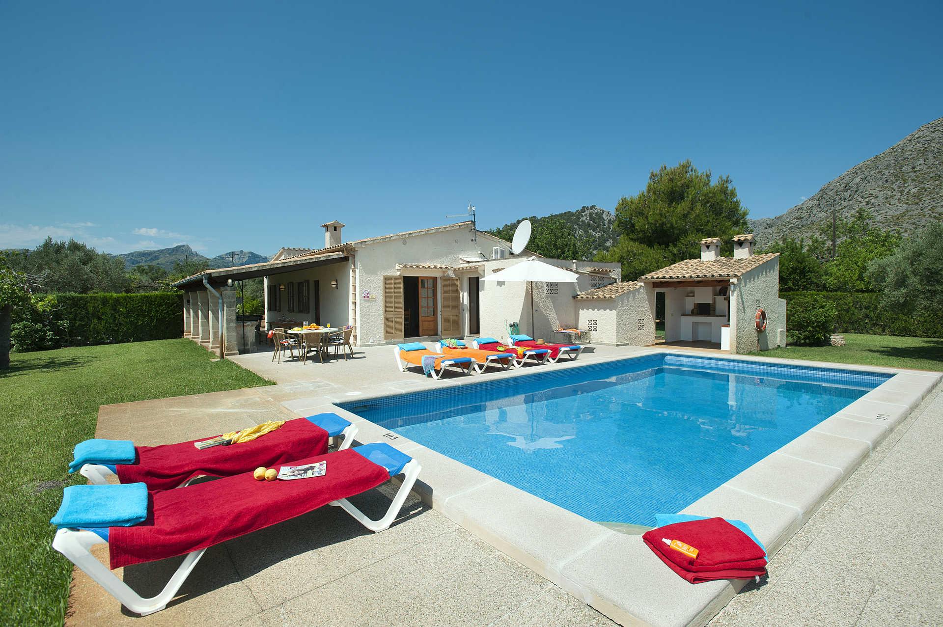 Villa Casa Margarita, Pollensa, Majorca, Spain