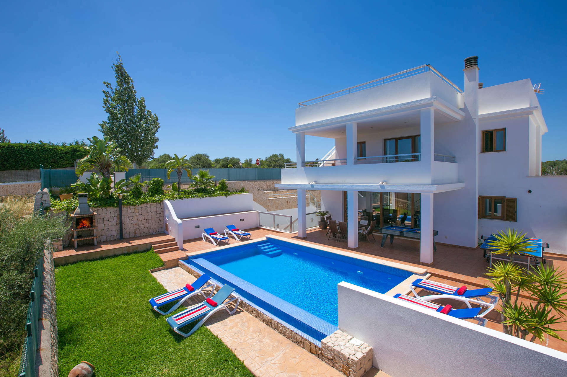 Villa Chiki, Cala D'or, Majorca, Spain