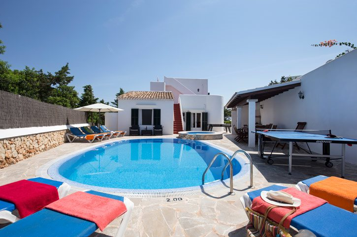 Villa Delfin, Cala D'or, Majorca, Spain