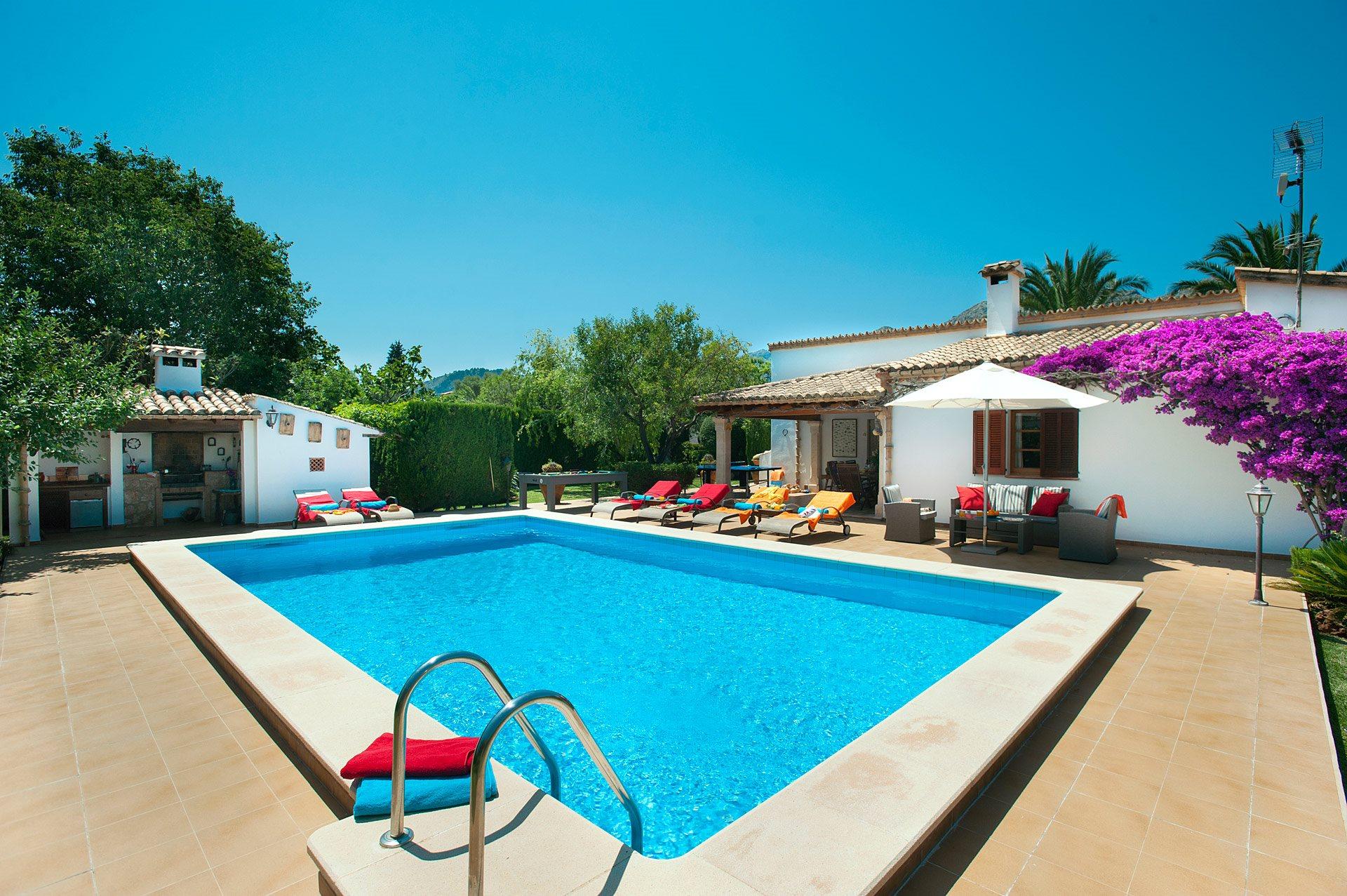 Villa Durai, Pollensa, Majorca, Spain