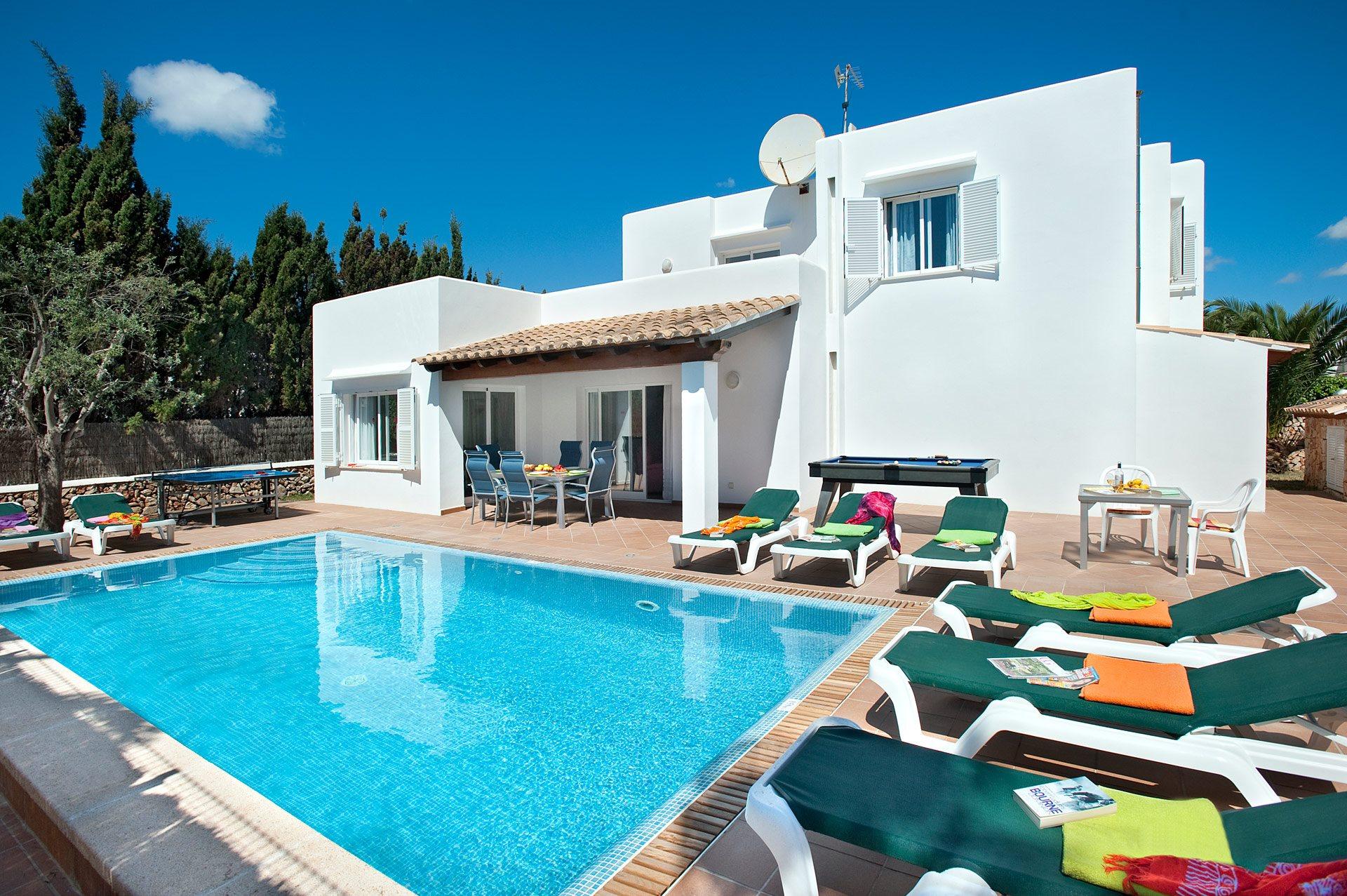 Villa Estribor, Cala D'or, Majorca, Spain
