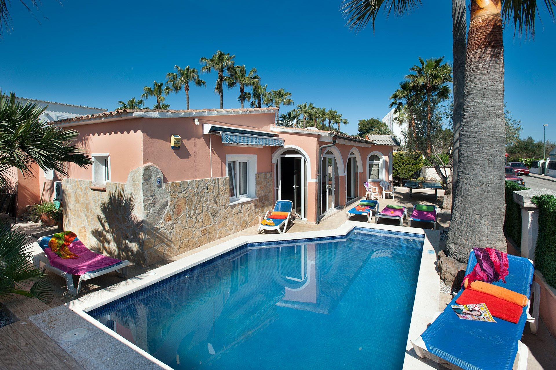 Villa Faisan, Alcudia, Majorca, Spain