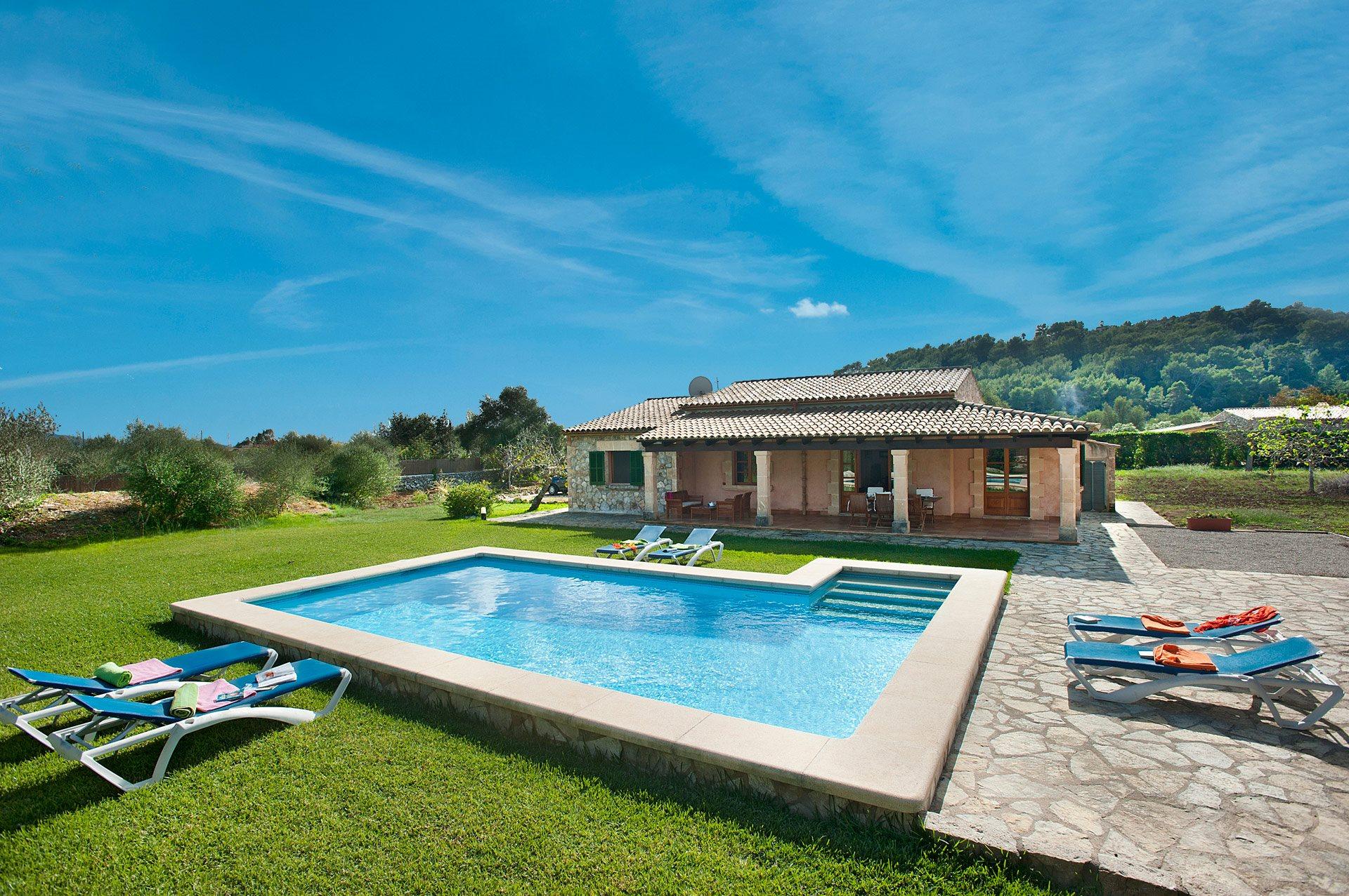 Villa Figueres, Pollensa, Majorca, Spain
