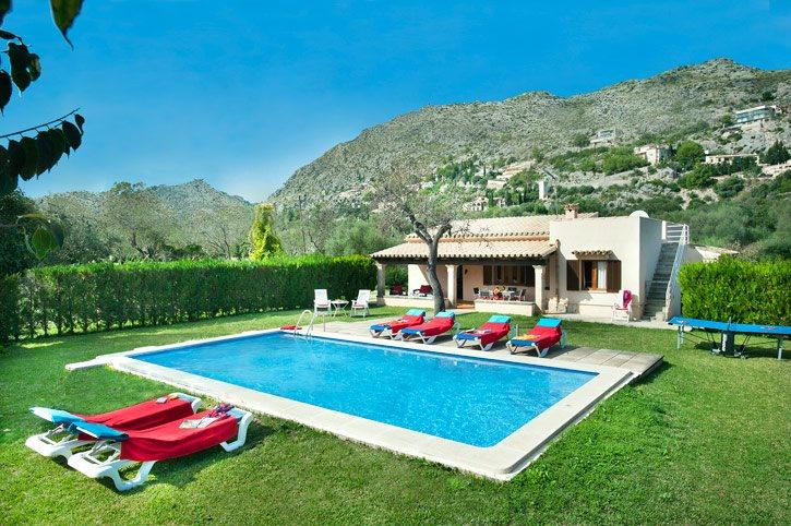 Villa Font Aina, Pollensa, Majorca, Spain