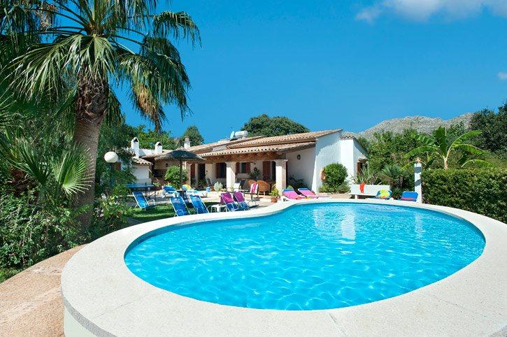 Villa Font Campo, Pollensa, Majorca, Spain