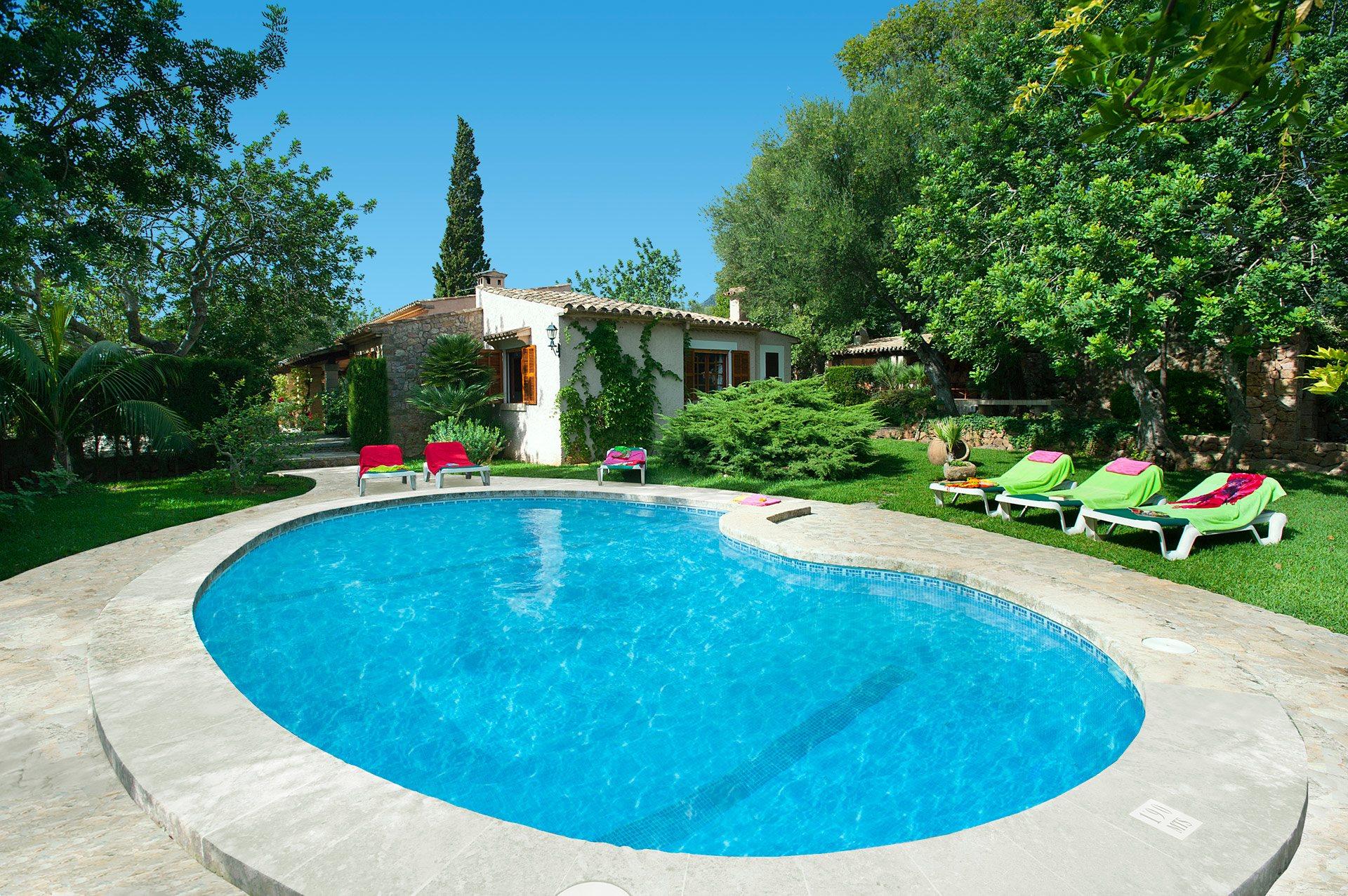 Villa Font Nadal, Pollensa, Majorca, Spain