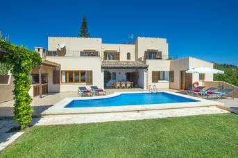 Villa Garrovers, Cala D'or, Majorca, Spain