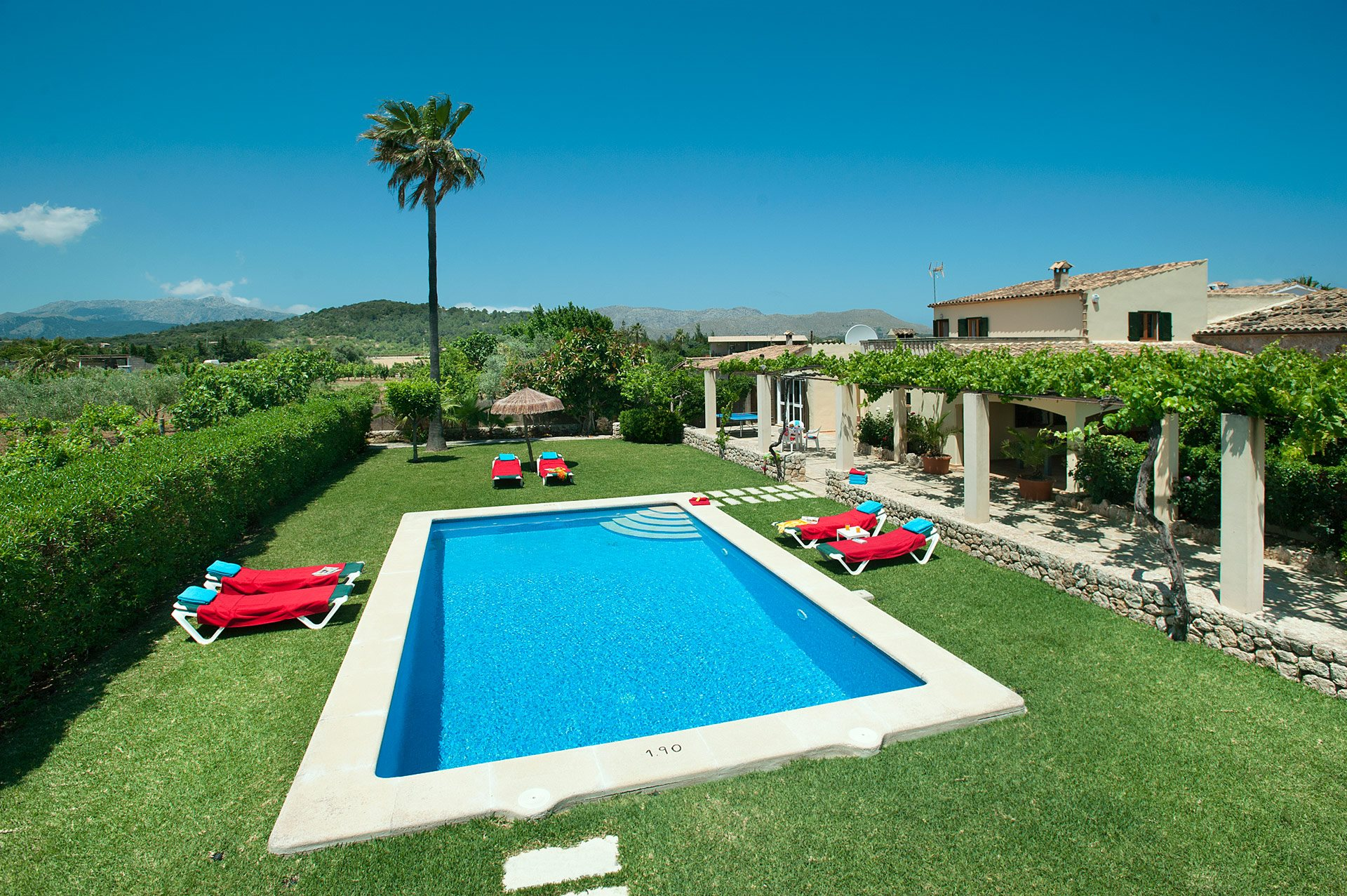 Villa Guaita, Pollensa, Majorca, Spain