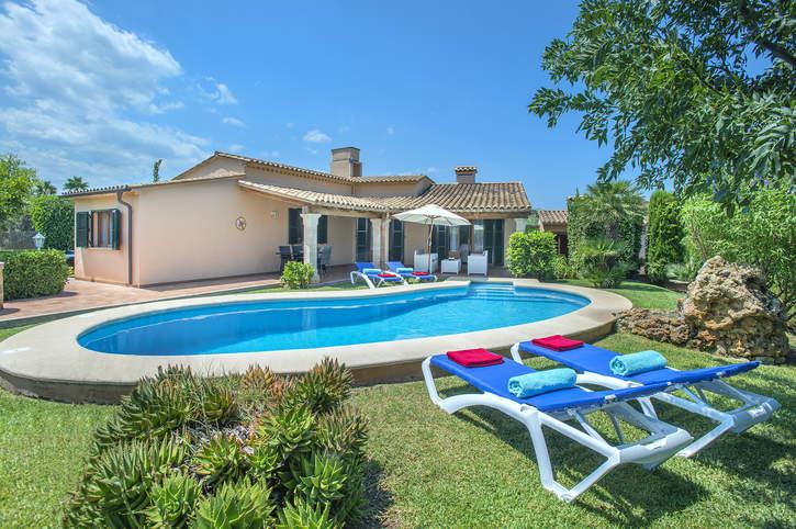 Villa Guaita II, Pollensa, Majorca, Spain