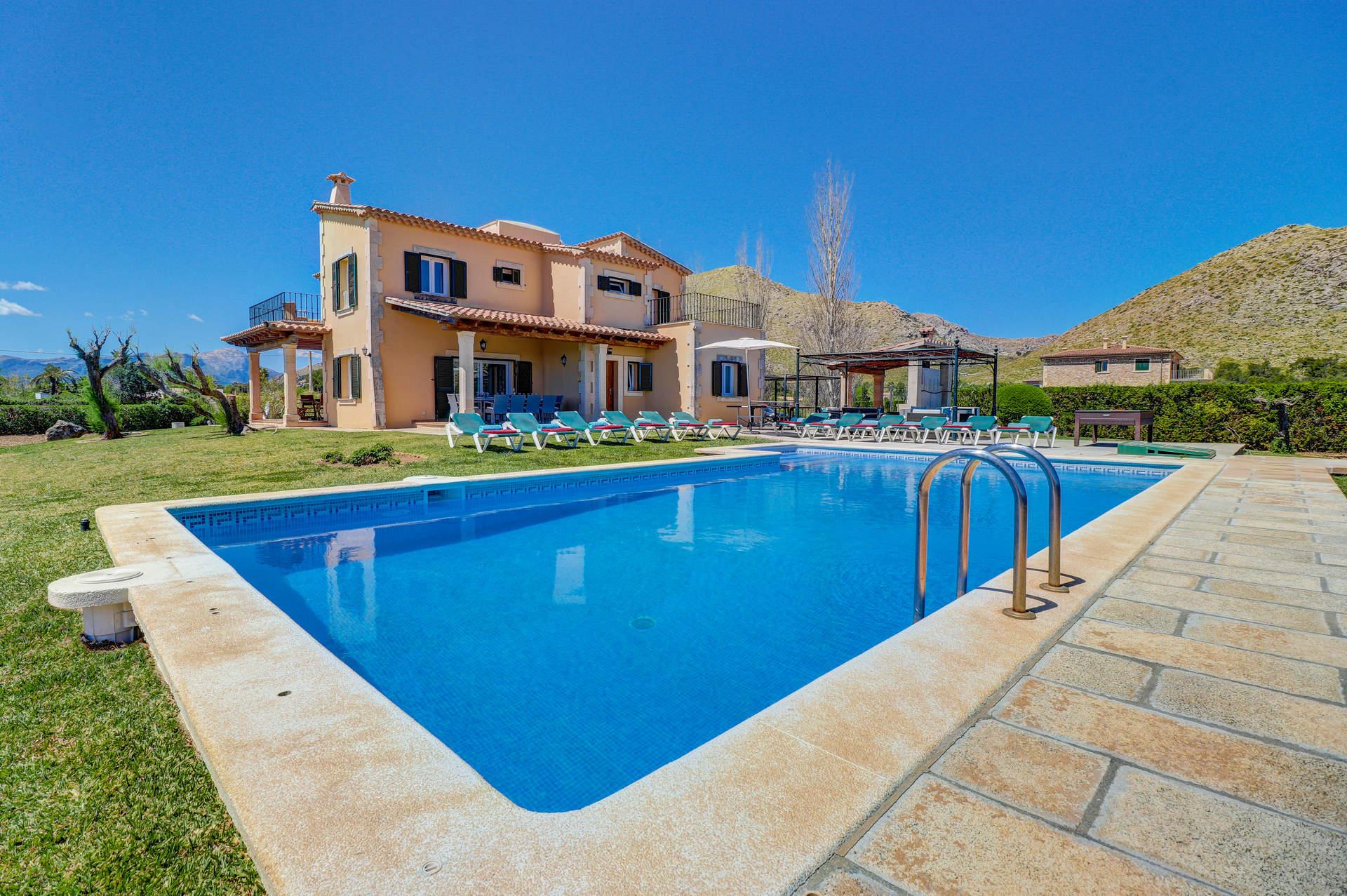 Villa Hort de Siller, Puerto Pollensa, Majorca, Spain