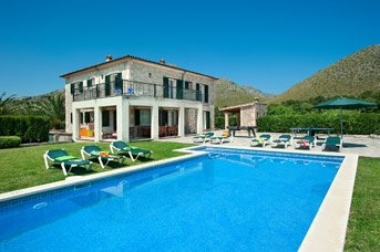 Villa Illa Petita, Puerto Pollensa, Majorca, Spain