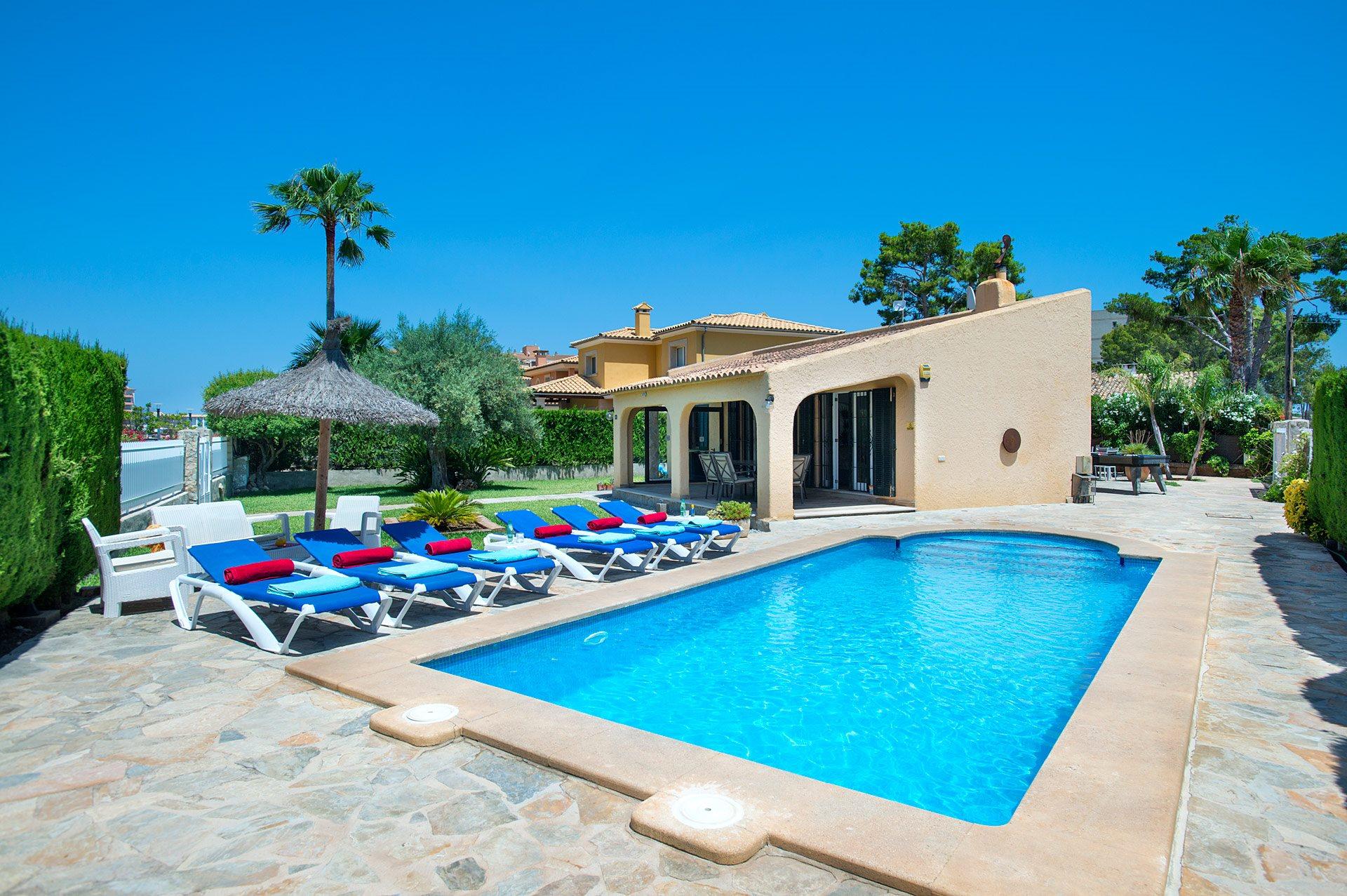 Villa Iris, Alcudia, Majorca, Spain