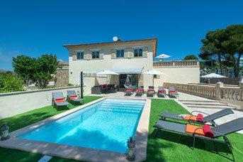 Villa Isabella, Alcudia, Majorca, Spain