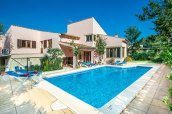 Villa Jaima, Cala San Vicente, Majorca, Spain