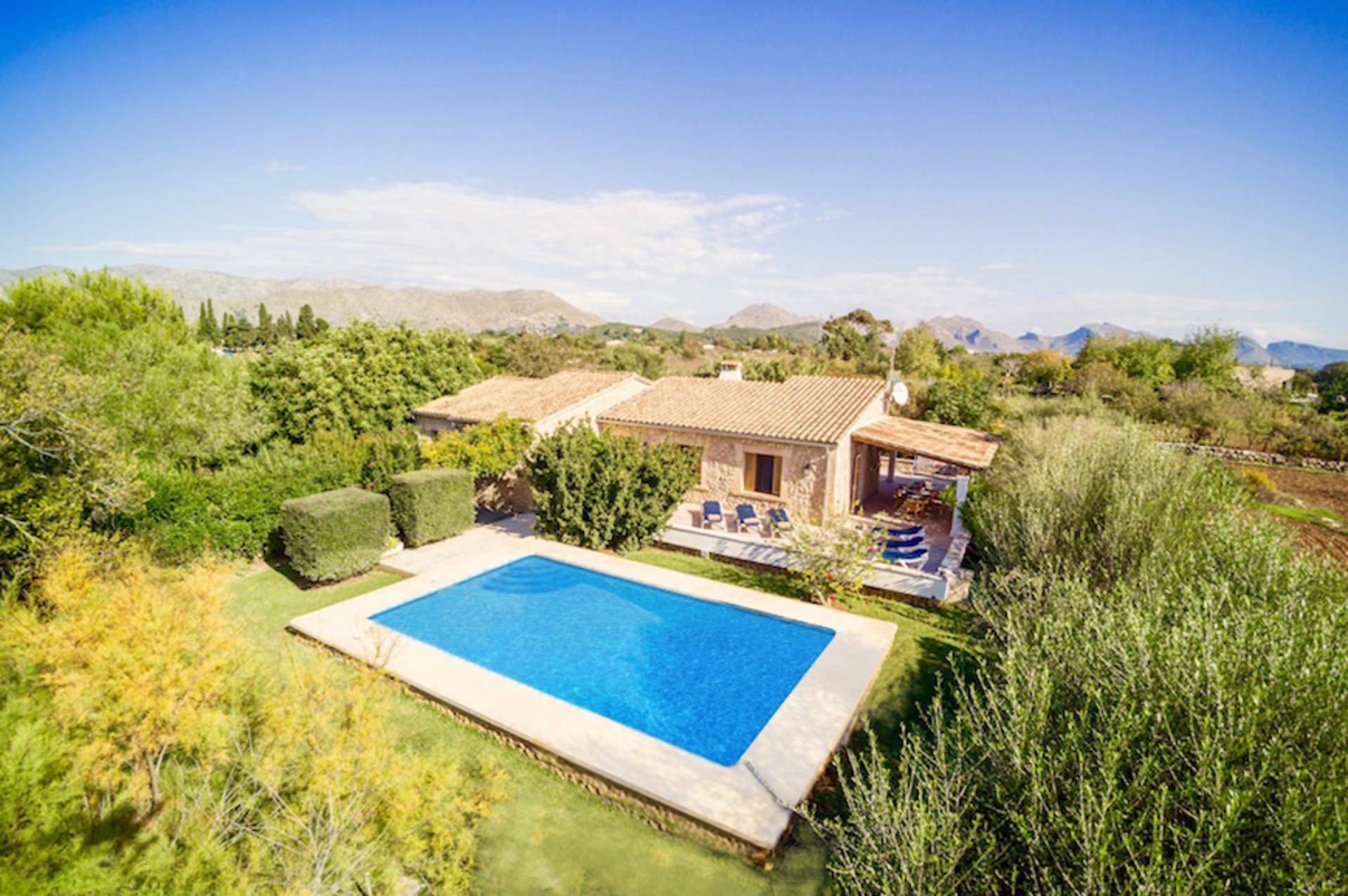 Villa Jordi Fiol, Pollensa, Majorca, Spain