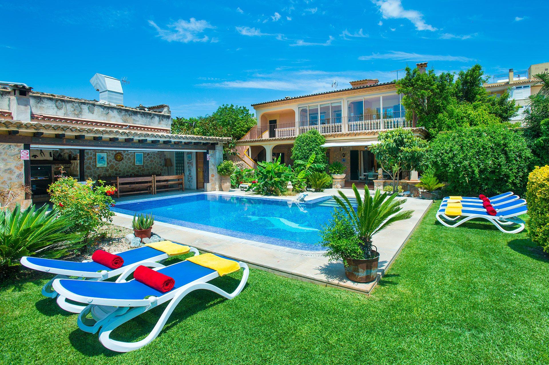 Villa Josep, Pollensa, Majorca, Spain