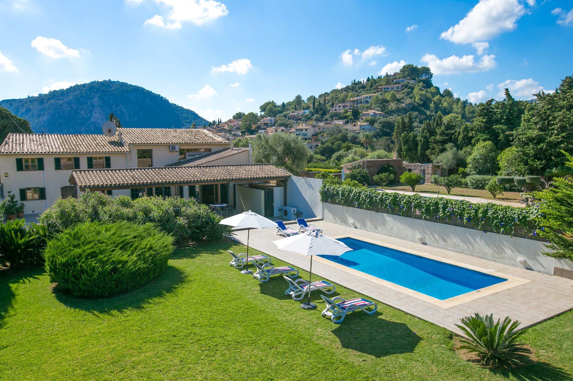 Villa Llobiner, Pollensa, Majorca, Spain