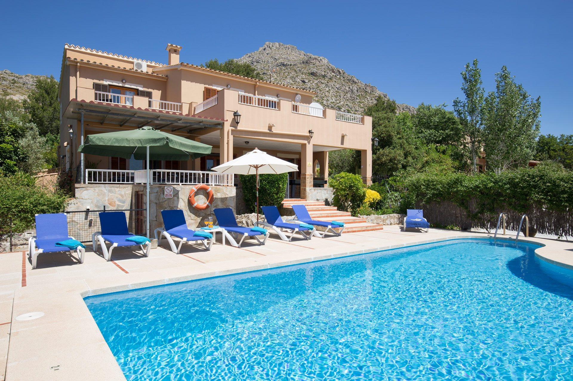 Villa Luis Vives, Puerto Pollensa, Majorca, Spain