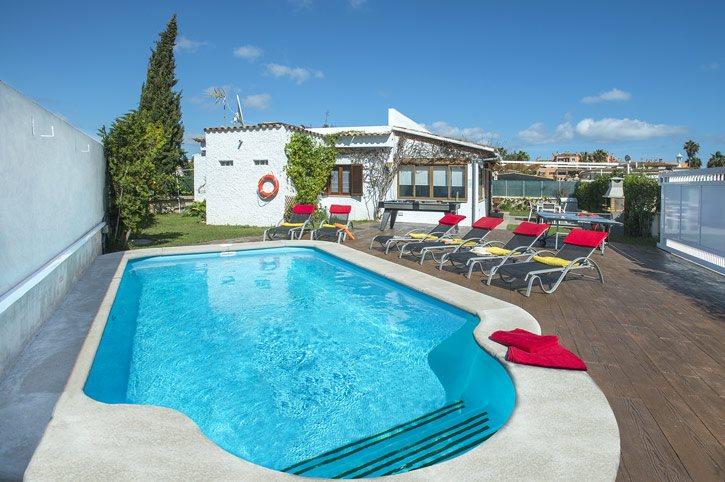 Villa Luna, Alcudia, Majorca, Spain