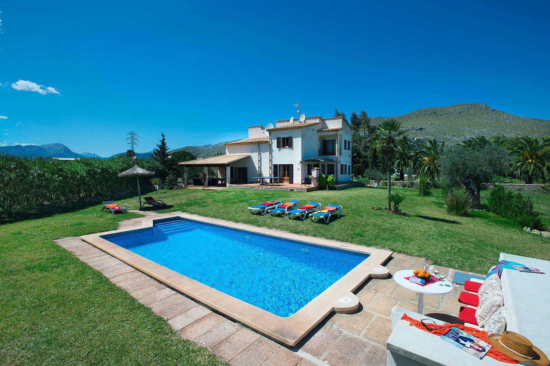 Villa Maina, Puerto Pollensa, Majorca, Spain