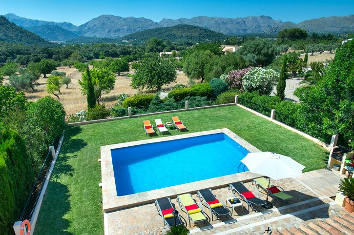 Villa Malagarbo, Pollensa, Majorca, Spain
