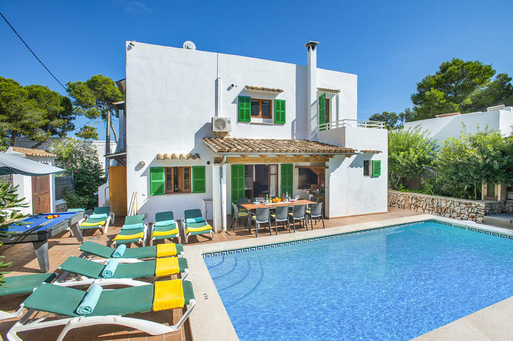 Villa Malen, Cala D'or, Majorca, Spain