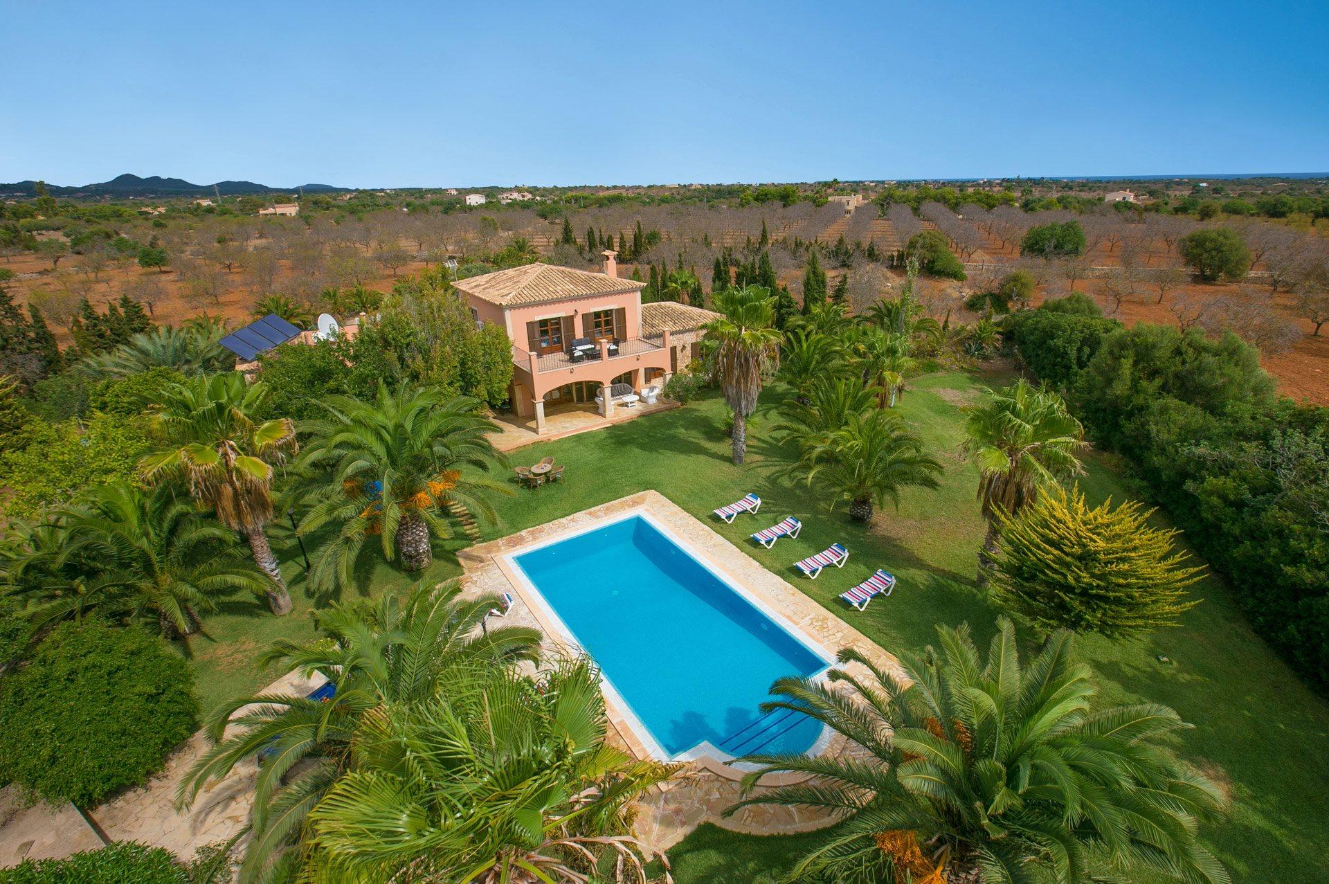 Villa Marino, Cala D'or, Majorca, Spain