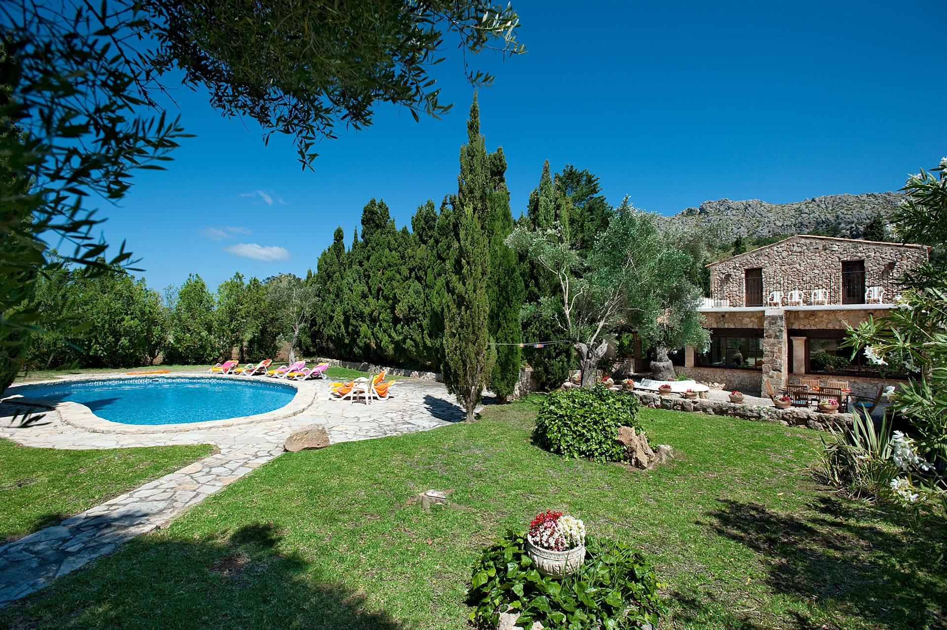 Villa Martorellet, Cala San Vicente, Majorca, Spain