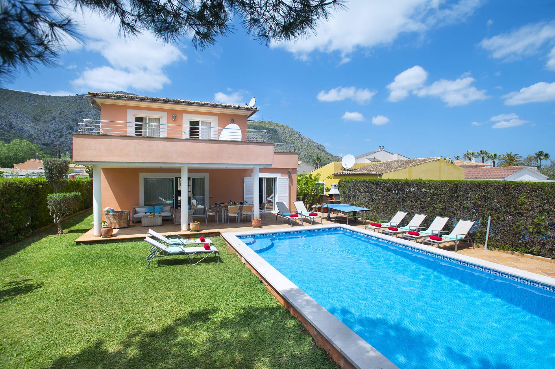 Villa Massanet In Alcudia Majorca Villa Plus
