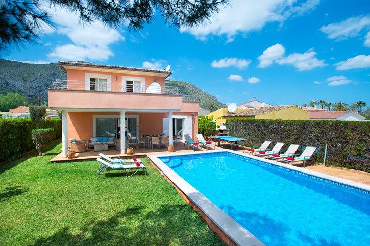Villa Massanet, Alcudia, Majorca, Spain