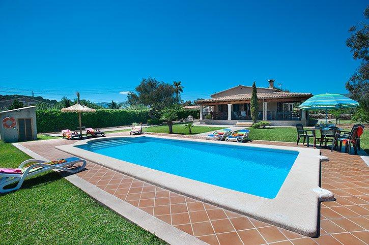 Villa Monserrat, Pollensa, Majorca, Spain