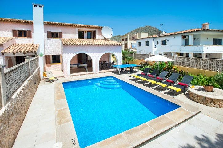 Villa Monsy II, Puerto Pollensa, Majorca, Spain