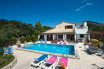 Villa Oliveras, Pollensa, Majorca, Spain